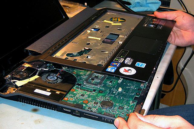 Как разобрать ноутбук ASUS N53JF
