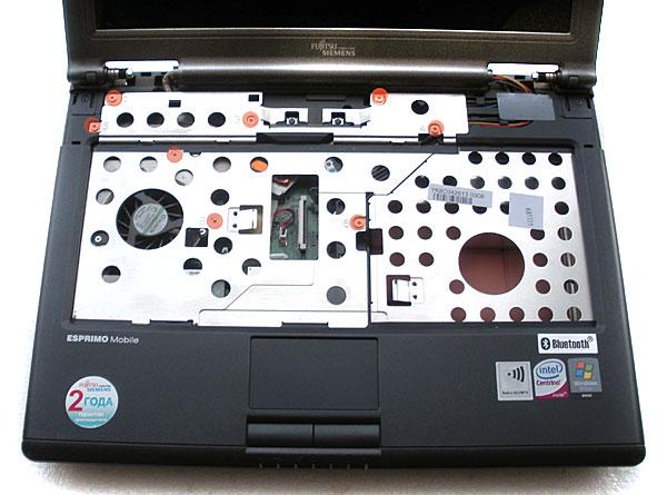 Как разобрать ноутбук Fujitsu Siemens