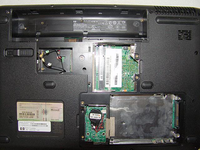 Как разобрать ноутбук HP Pavillion dv2700