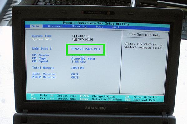 Как разобрать нетбук Samsung n150