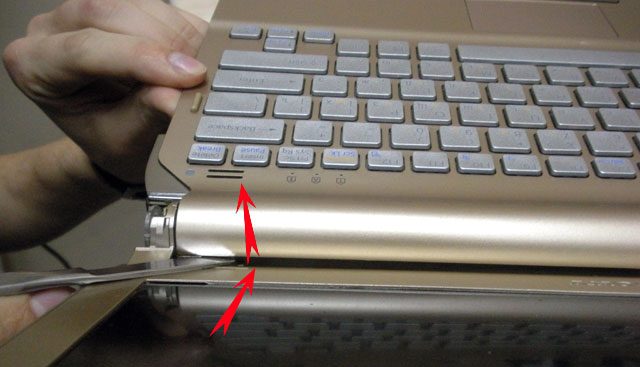 Как разобрать ноутбук SONY VAIO VGN-TT11RM